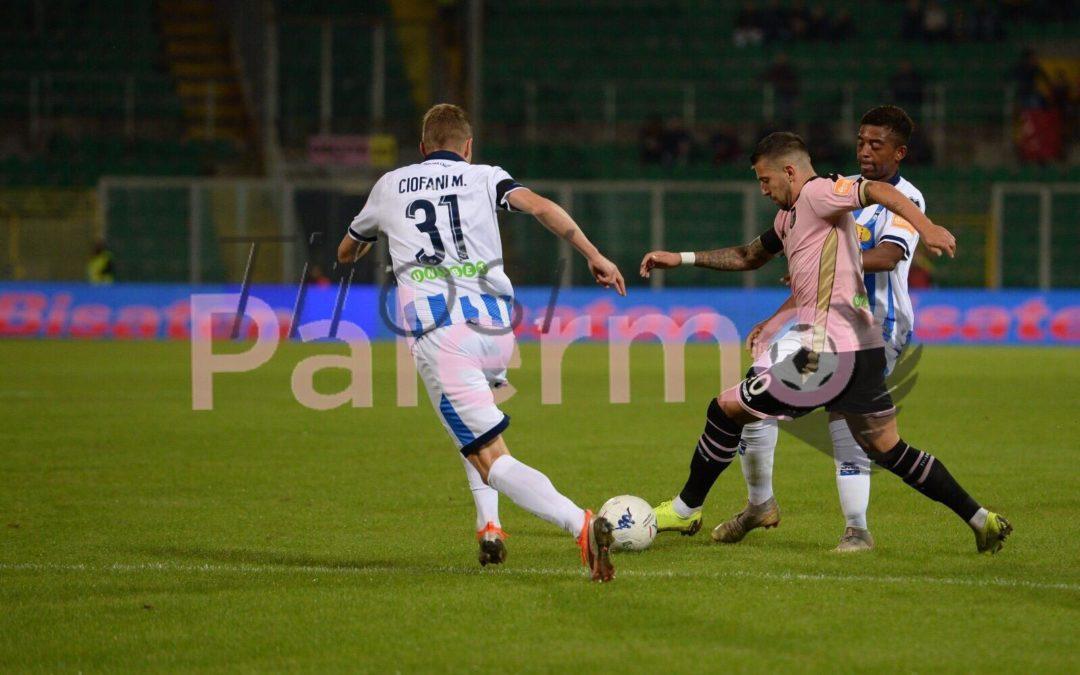 Palermo-Pescara 1-0 : il commento del primo tempo
