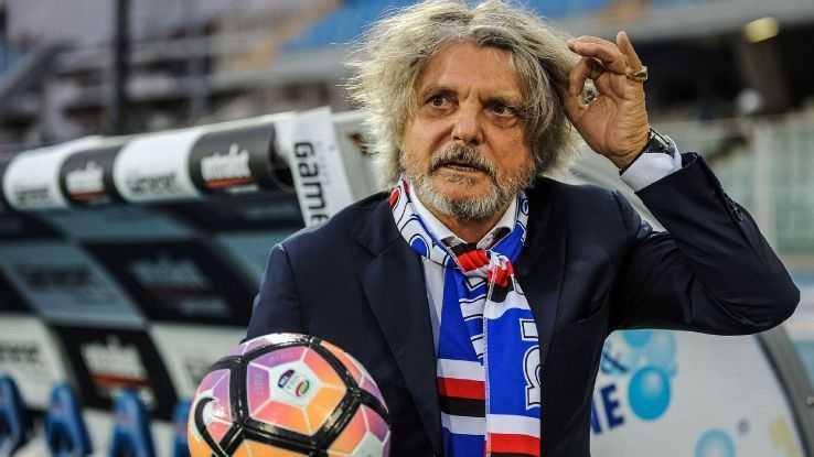 presidente Sampdoria Palermo