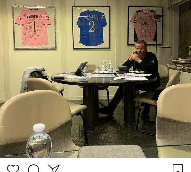 """Richardson: """"Riporteremo il Palermo in Serie A""""… – FOTO"""