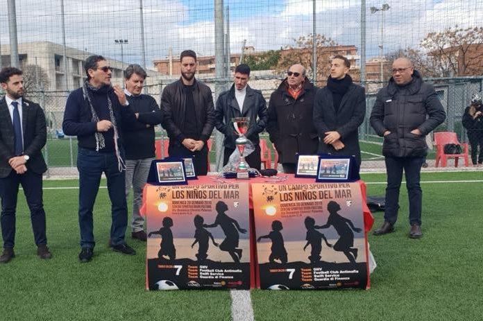 """Quadrangolare di beneficenza al """"Buon Pastore"""" oggi, presenti anche tre giocatori del Palermo."""