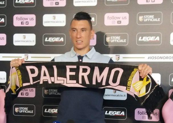 """Falletti: """"Mi piacerebbe restare a Palermo, qui mi sento rinato"""""""