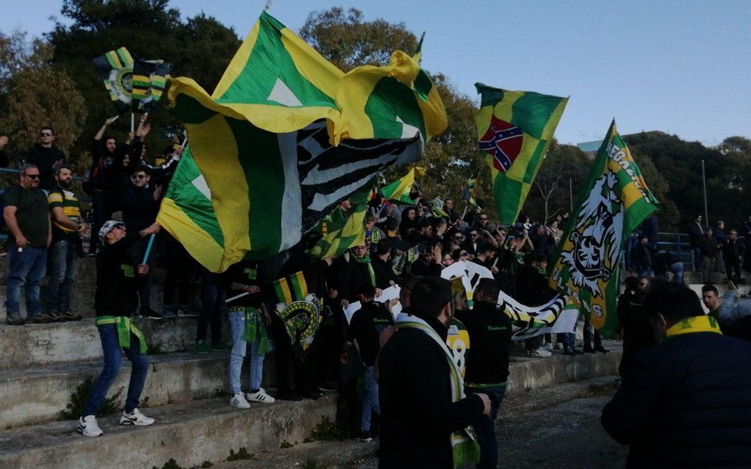 Storia di un match diverso: il cuore gialloverde a Ragusa
