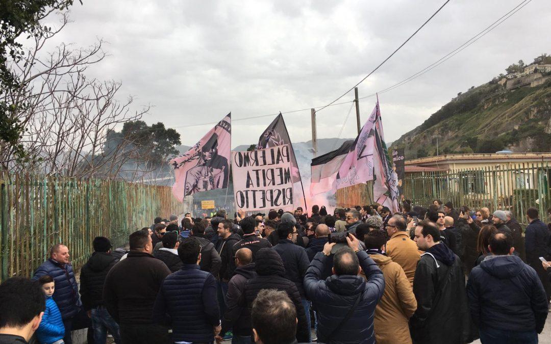 Follieri-Palermo; salta la trattativa, i tifosi si scagliano contro Facile e Zamparini–FOTO
