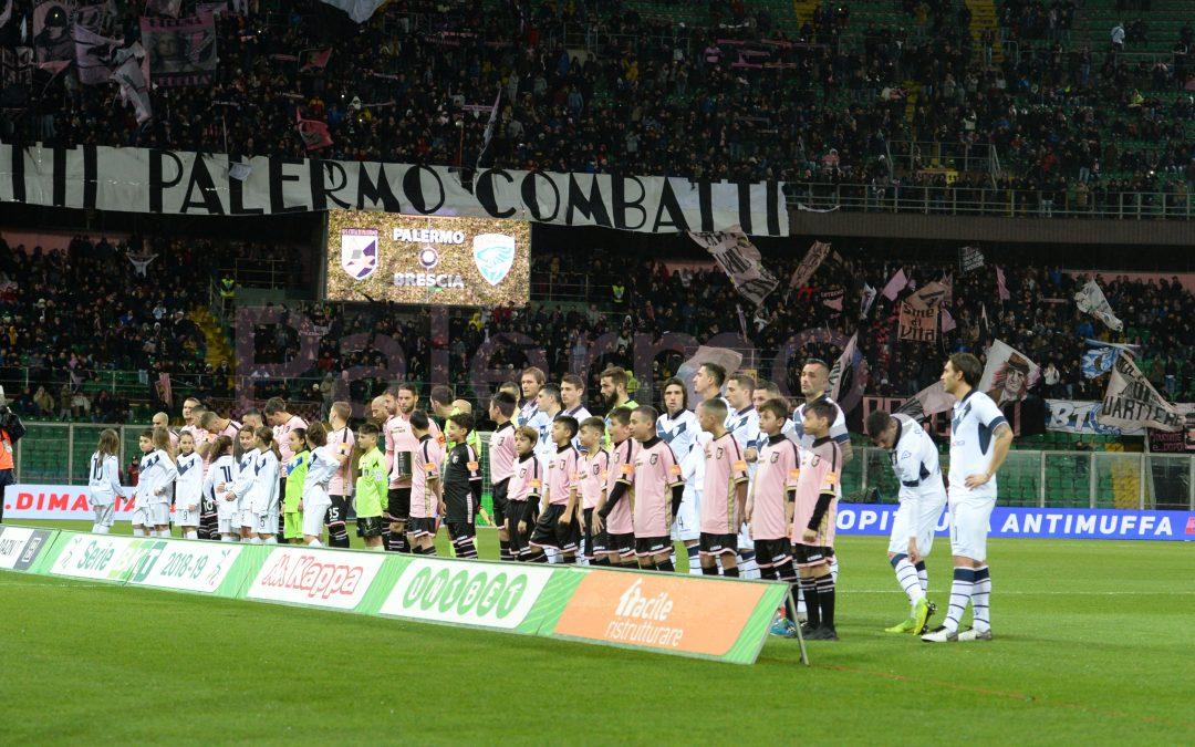 Palermo, occasione persa. Il Brescia agguanta il pari nel finale a causa di una fatale disattenzione di Brignoli.