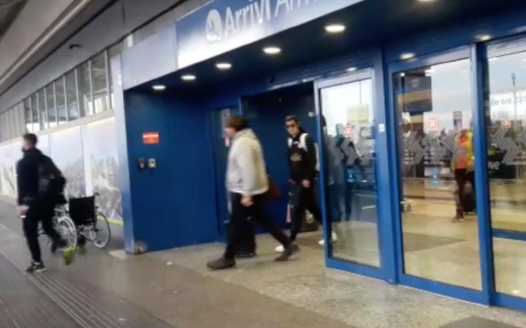 L'arrivo della squadra a Verona – VIDEO