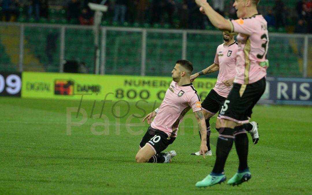 Le probabili formazioni di Palermo-Carpi: Stellone rispolvera il 4-4-2 super offensivo.
