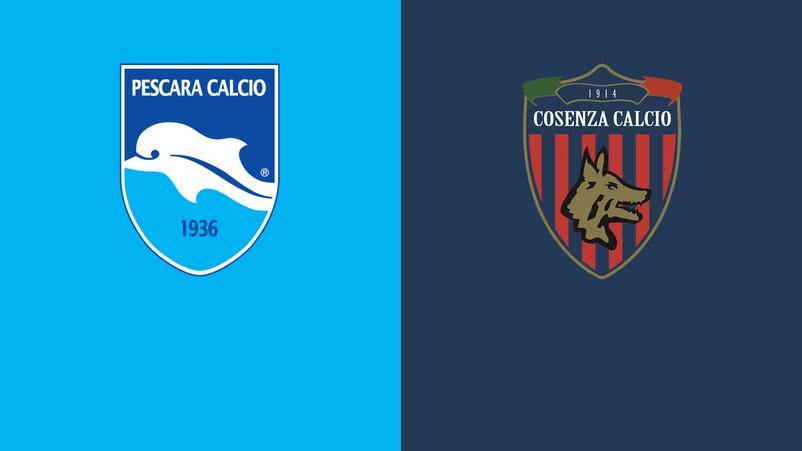 Serie B, il Cosenza frena il Pescara