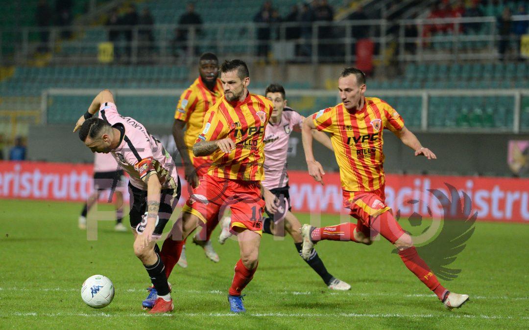 Benevento-Palermo: LE FORMAZIONI UFFICIALI, Trajkovski in panchina