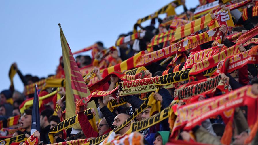 """Curva sud Benevento: """"Questa sera deve essere una bolgia, Palermo compagine…"""""""