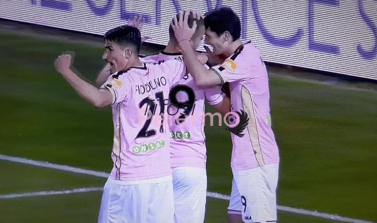 Benevento-Palermo: trionfo dei rosanero, Brignoli eroe di giornata