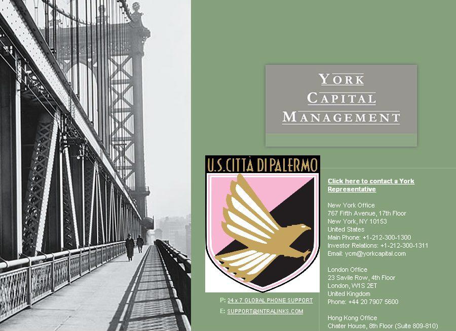 Cessione: York Capital, si chiude in 72 ore – (GdS)