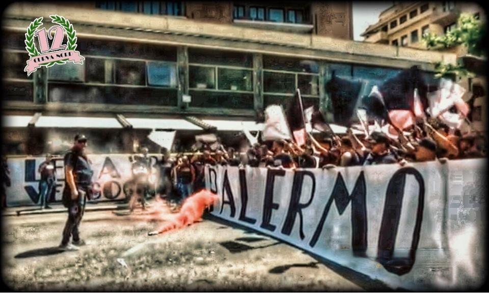"""Il messaggio della Curva Nord 12: """"Spostamento dell'udienza prolunga il teatrino, Palermo merita rispetto"""""""