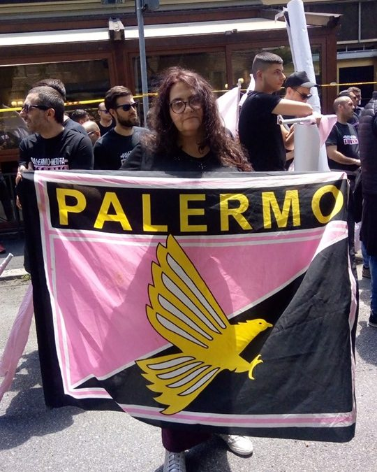 """Alessia Ada Gaeta: """"A Roma, per il mio Palermo, contro tutte le ingiustizie"""""""