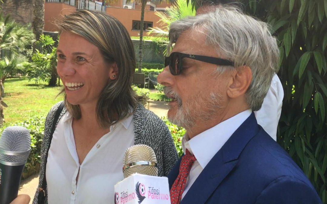 """Massimo Ferrero: """"Formeremo una squadra femminile rosanero. Spero di poter essere…"""" [VIDEO]"""