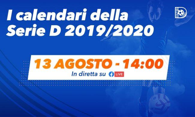 Calendario Primo Semestre 2020.Domani Calendari Del Campionato Di Serie D 2019 2020
