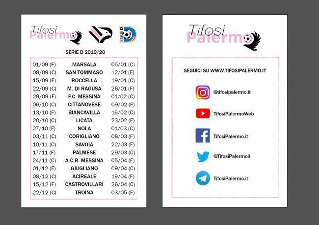 Palermo Calcio Calendario.Il Calendario Del Palermo Un Omaggio Della Nostra Redazione