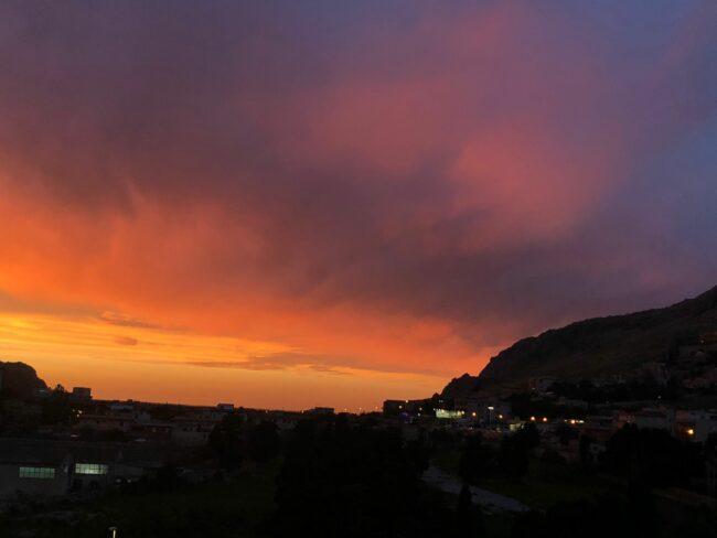 Palermo tramonto