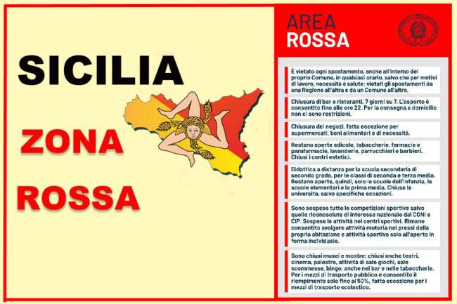 Musumeci Sicilia zona rossa