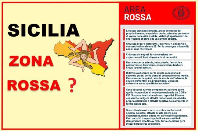 Sicilia zona rossa