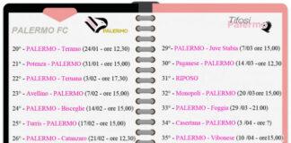 Palermo il calendario